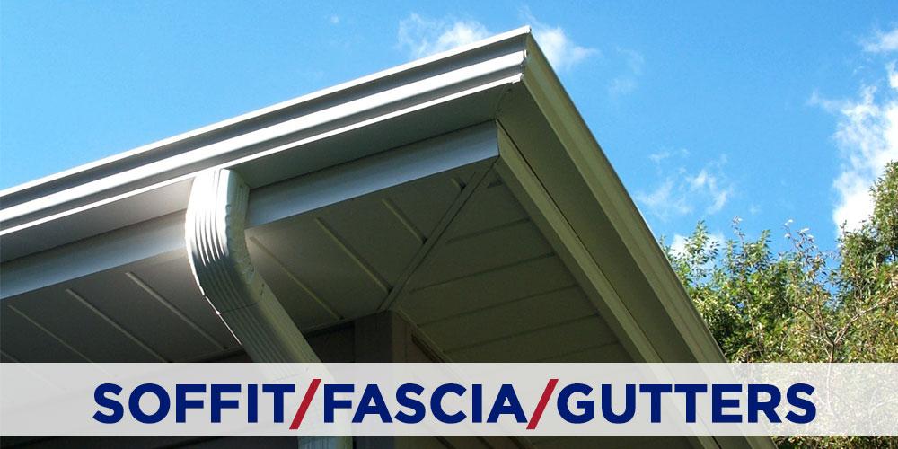 soffit, fascia, gutter services